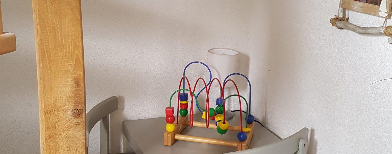 Eingangsbereich Kinderspielecke